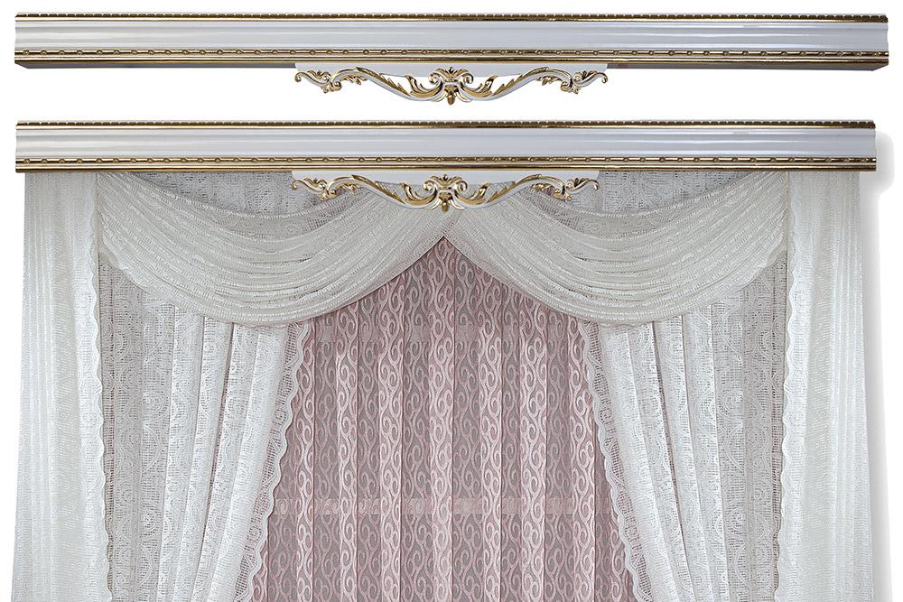 Elegant Curtain Rod Covers Eva Series